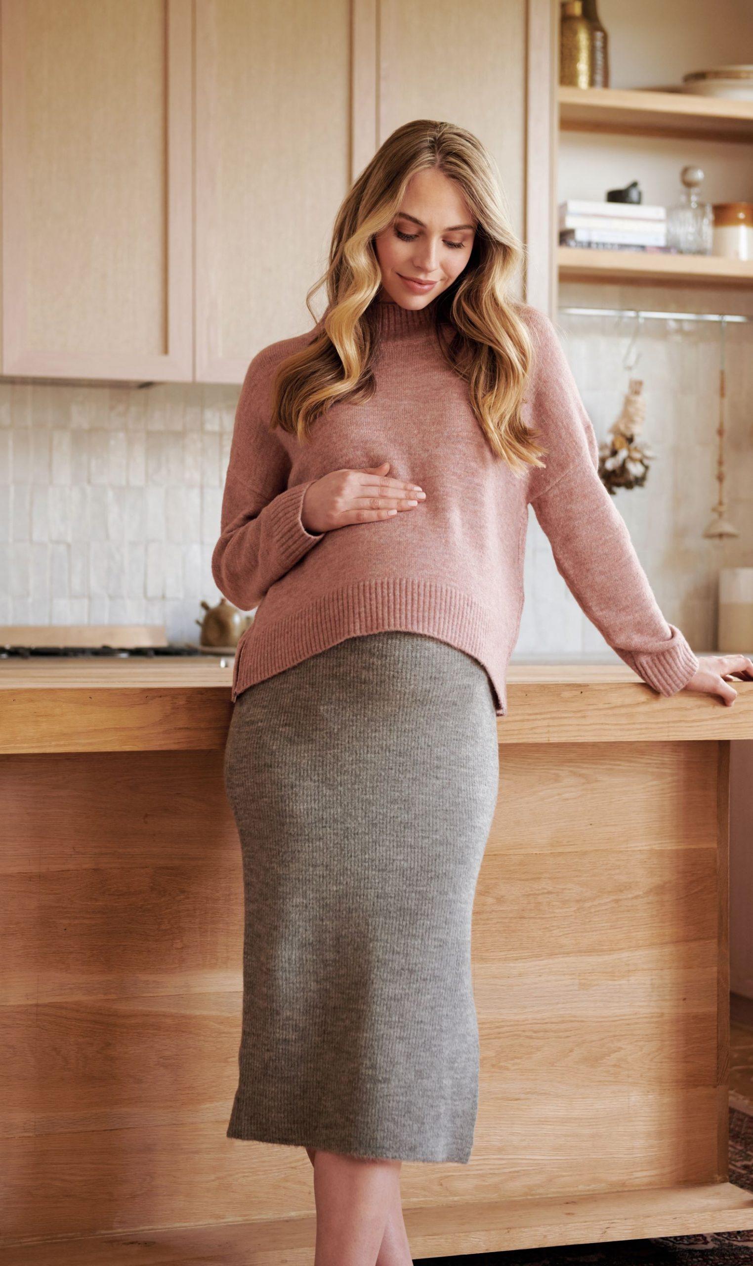 Ripe_AW21_Jade Crop Nursing Knit_Beck Knit Skirt_01